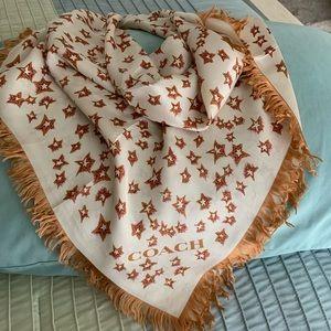 Original Coach silk scarf
